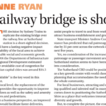 St George & Sutherland Shire Leader comment about railway bridge