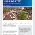 First stage of the Sutherland to Cronulla Active Transport Link between Sutherland and Kirrawee approved